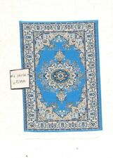 Rug  41S  miniature dollhouse woven carpet 1pc 1//12 scale made in Turkey fabric