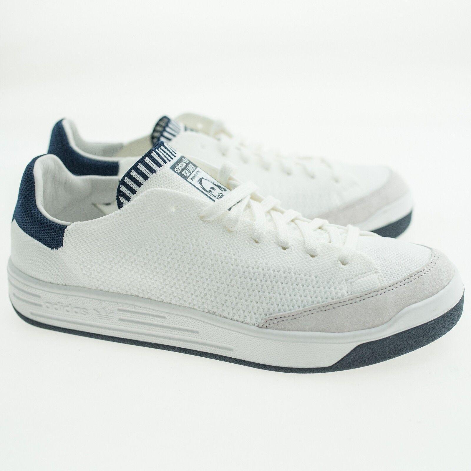 Adidas uomo Rod Laver Super Primeknit (white / footwear white / collegiate navy) Scarpe classiche da uomo