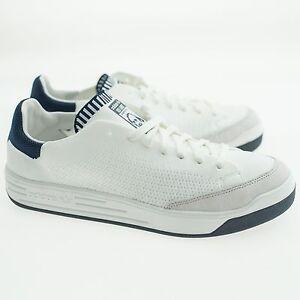 Image is loading Adidas-Men-Rod-Laver-Super-Primeknit-white-footwear- 927920a51