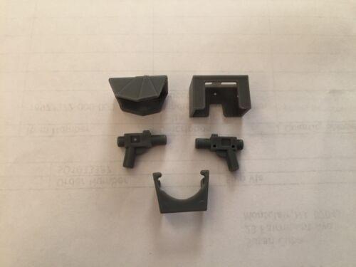 Lego Star Wars Grey Armor Leggings Pauldron Guns - 5 Pieces Minifig Fox Cody