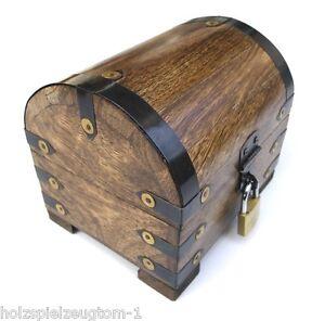 Schatzkiste Schatztruhe Truhe Holztruhe Holzbox Box