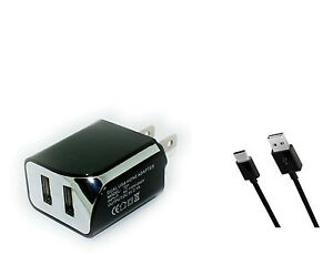 Wall-AC-Home-Charger-3ft-USB-Cord-Cable-for-Verizon-LG-G8-ThinQ-LM-G820-G820UMB
