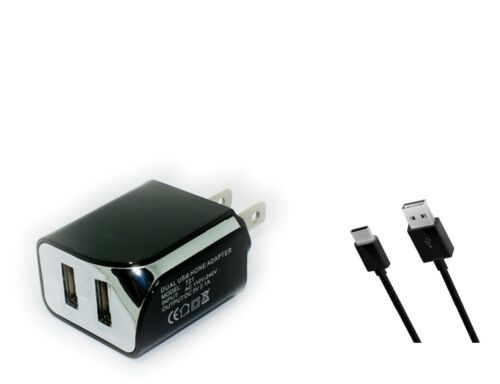 Home Wall AC Charger+3ft USB Cord Cable Wire for ASUS ZenPad 10 Z301M Tablet