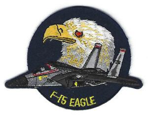 F-15 EAGLE HAT LAPEL PIN UP US AIR FORCE PILOT CREW VETERAN FIGHTER AFB WING WOW