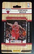 2012-13 Panini NBA Hoops Factory Sealed Team Set Chicago Bulls (10 Cards)