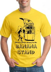 There-039-s-always-money-in-the-BANANA-STAND-arrested-Mens-Funny-Tee-development-NEW