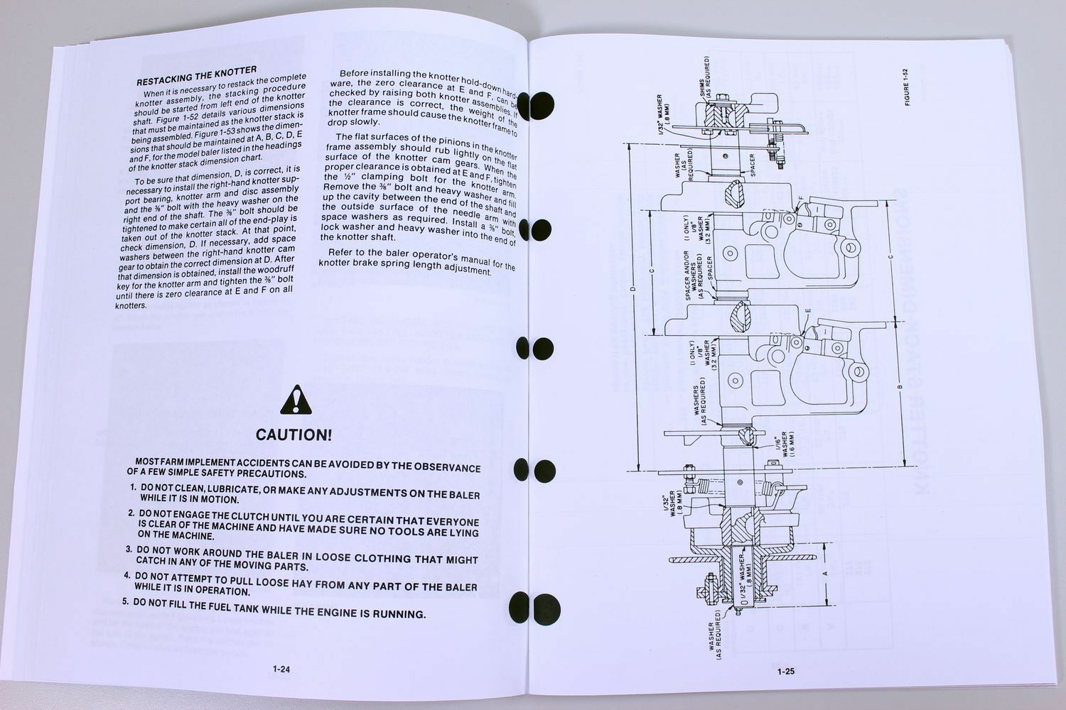 Holland 570 575 1426 Square Baler Knotter Service Repair Shop Manual Vintage New Lawn Tractor Wiring Diagram Ebay