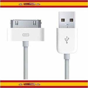 CABLE-USB-CARGA-Y-DATOS-PARA-IPHONE-4-4G-4S-3GS-3G-iPOD-IPAD-2-CARGADOR-SYNC