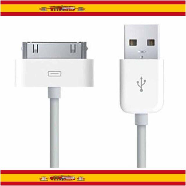 CABLE USB CARGADOR Y DATOS PARA IPHONE 4S 4 3GS 3G IPAD 3 2 1 IPOD NANO TOUCH