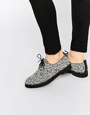 Miista Eloise black/white oxfords size 37/7 new in box