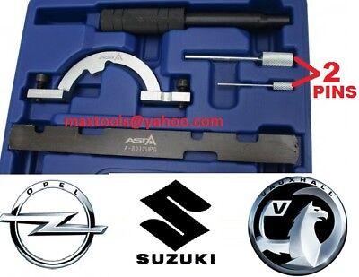 Vauxhall Corsa C E D 1.0 1.2 1.4 Timing Chain Di Bloccaggio/strumenti Di Montaggio Tool Kit- Valore Eccezionale