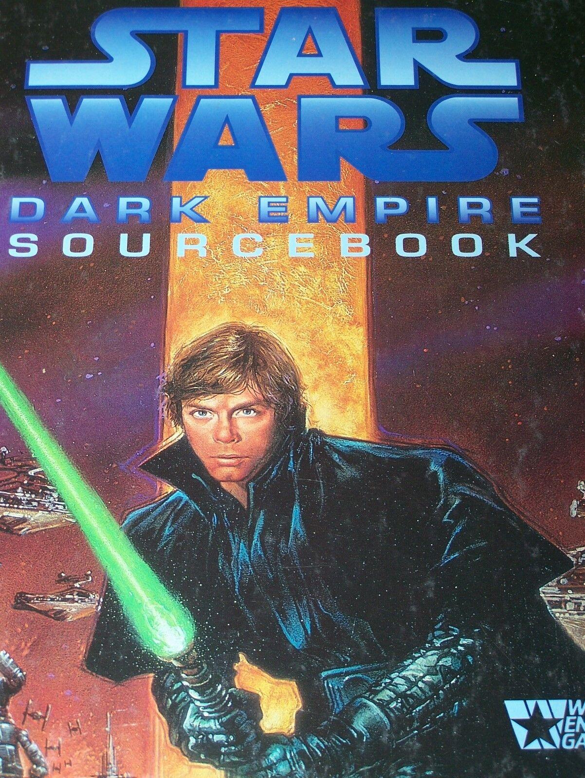 Star Wars RPG Hardcover Sourcebook Dark Empire Last Command Dark Force Rising +2