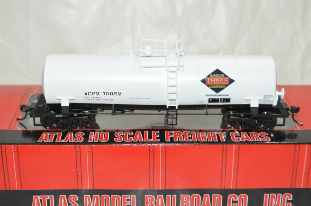 HO scale Atlas Thiele Kaolin Georgia chemicals clay slurry tank car train