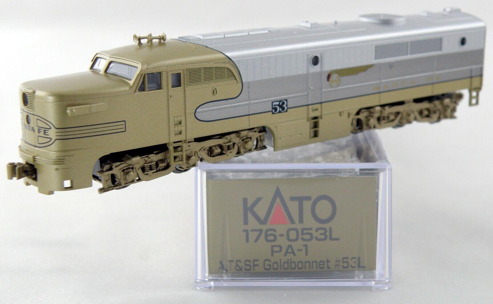 N Scale ALCO PA-1 Locomotive - AT&SF  goldbonnet  L - KATO L