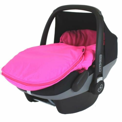 Carseat Footmuff Raspberry Pink Fits Graco Logico Auto Baby Pram Travel System