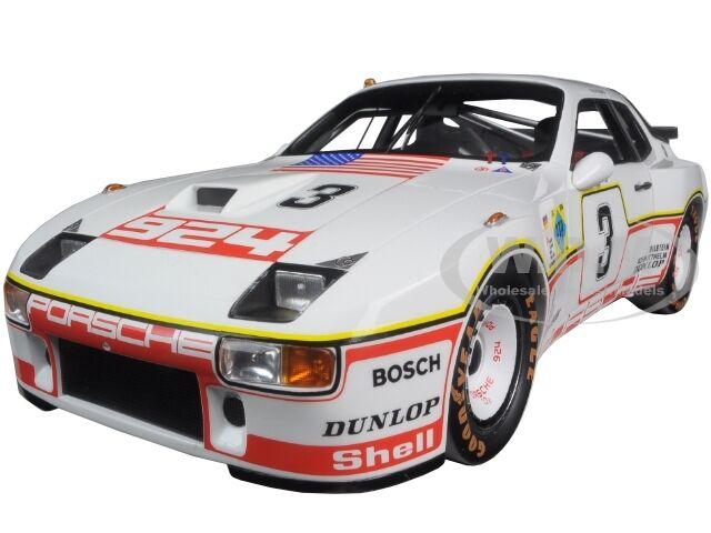 1980 PORSCHE 924 GT  3 LE MANS 24HR D.BELL- A. HOLBER LTD 500PC 1 18 TSM 141825R