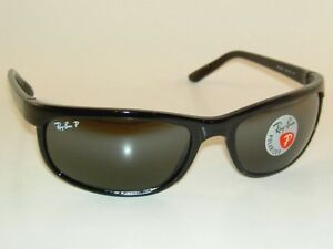 d05acf2087 New RAY BAN Predator 2 Sunglasses Black Frame RB 2027 601 W1 Glass ...