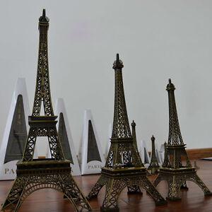 New-Bronze-Paris-Eiffel-Tower-Figurine-Statue-Model-Souvenir-Home-Decor-AU