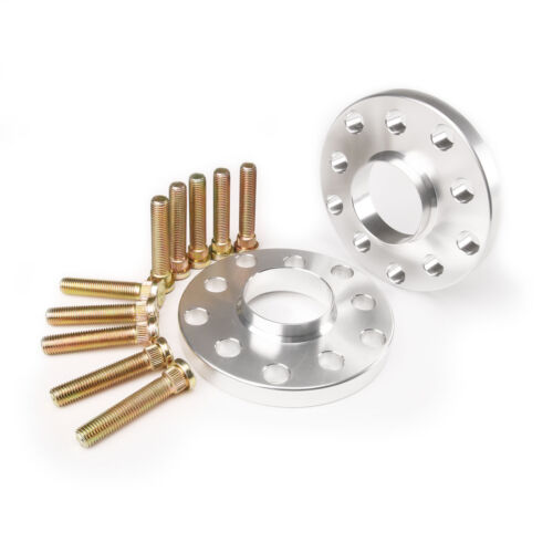 15MM Hubcentric Wheel Spacers W// Extended Studs For Acura 5x114 70.1 12x1.5