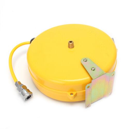 Mini Auto Retractable Air Hose Reel Rewind Compressor Wall Mountable Air Line