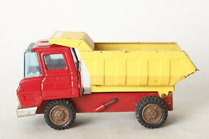 Bandilein-Bos-Tin-Toys-Dump-Truck-8-5-16in-Complete-Metal-Plate-119815