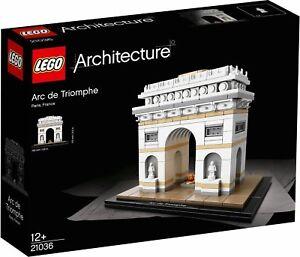 LEGO® Architecture 21036 Der Triumphbogen NEU NEW OVP MISB
