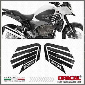 2pcs-Aufkleber-Ala-Schwarz-Kompatibel-VFR-1200-X-2010-Crosstourer-Honda-VFR1200X