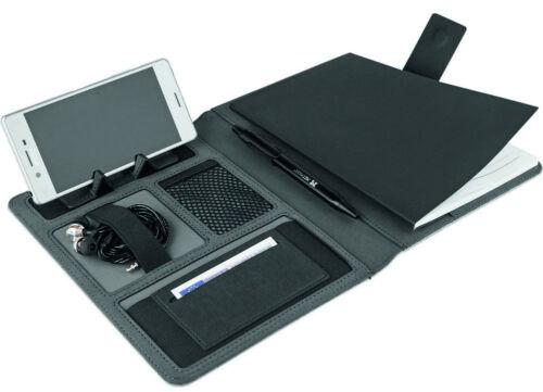 NEU Blackmaxx Business Class Schreibmappe DIN A5 mit Extras