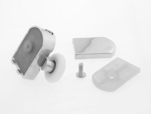Set of 2 Double Shower Door Rollers//Runners//Guides//Wheels diameter 23mm  L105