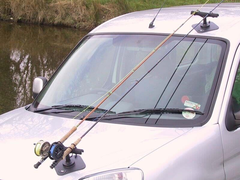 Vac Rac Combi Vehicle Fishing Rod Holder 1st Class Post Game Sea Angling