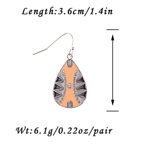 Fashion Vintage Women Bohemia Style Ear Stud Earrings Charm Antique Jewelry Gift