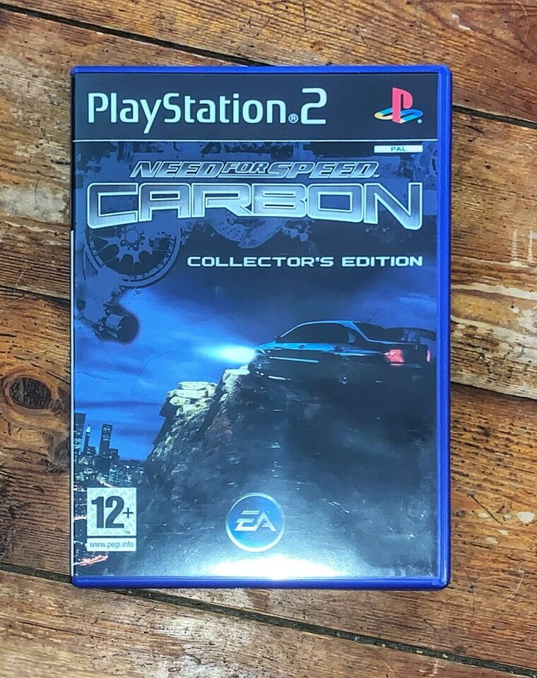 NEED FOR SPEED CARBON COLLECTOR'S EDITION, PS2, racing