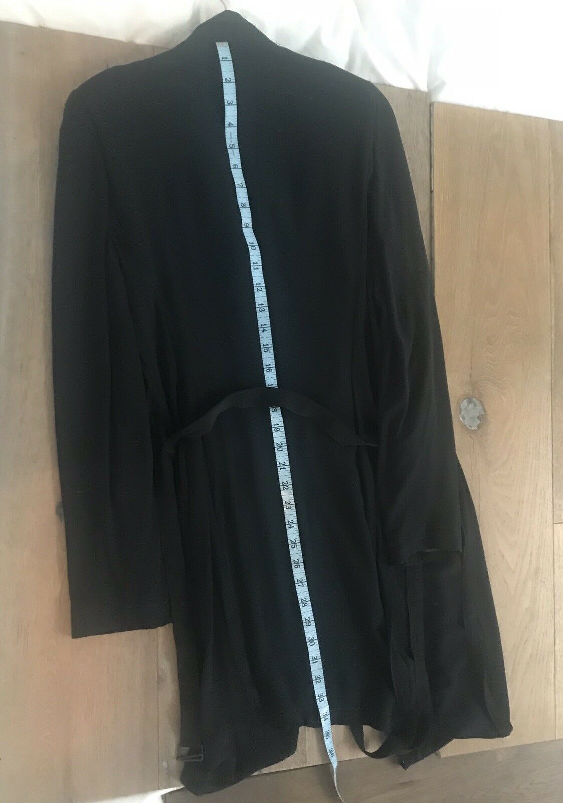 Vintage Ann Demeulemeester 100% Silk Double Lined… - image 8