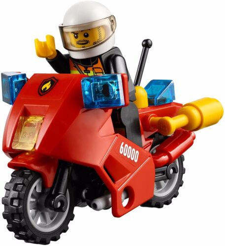 #60000 Rare LEGO City Fire Motorcycle NEW Retired 2013