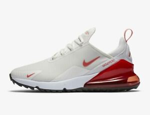 New Nike Golf Air Max 270 G Golf Shoes Sail Magic Ember Ck6483 104 Men S Ebay