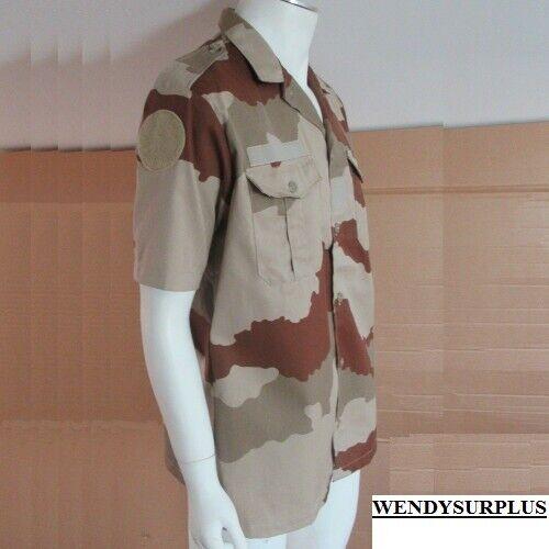 Chemisette F2 armée française outre-mer camouflage DAGUET NEUVE désert 45//46