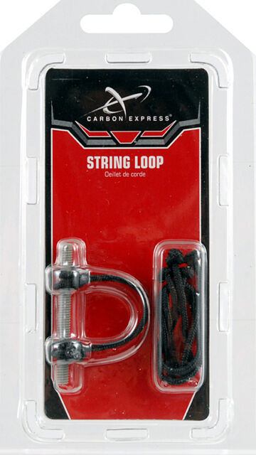 Carbon Express Archery nocking string release loop qty 3 pk bow hunting 57507