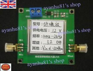 0.01-2000MHz 2Ghz 32dB LNA RF Haut Débit faible bruit Amplificateur Module HF VHF UHF-afficher le titre d`origine gT9KBMk0-07161445-233775364