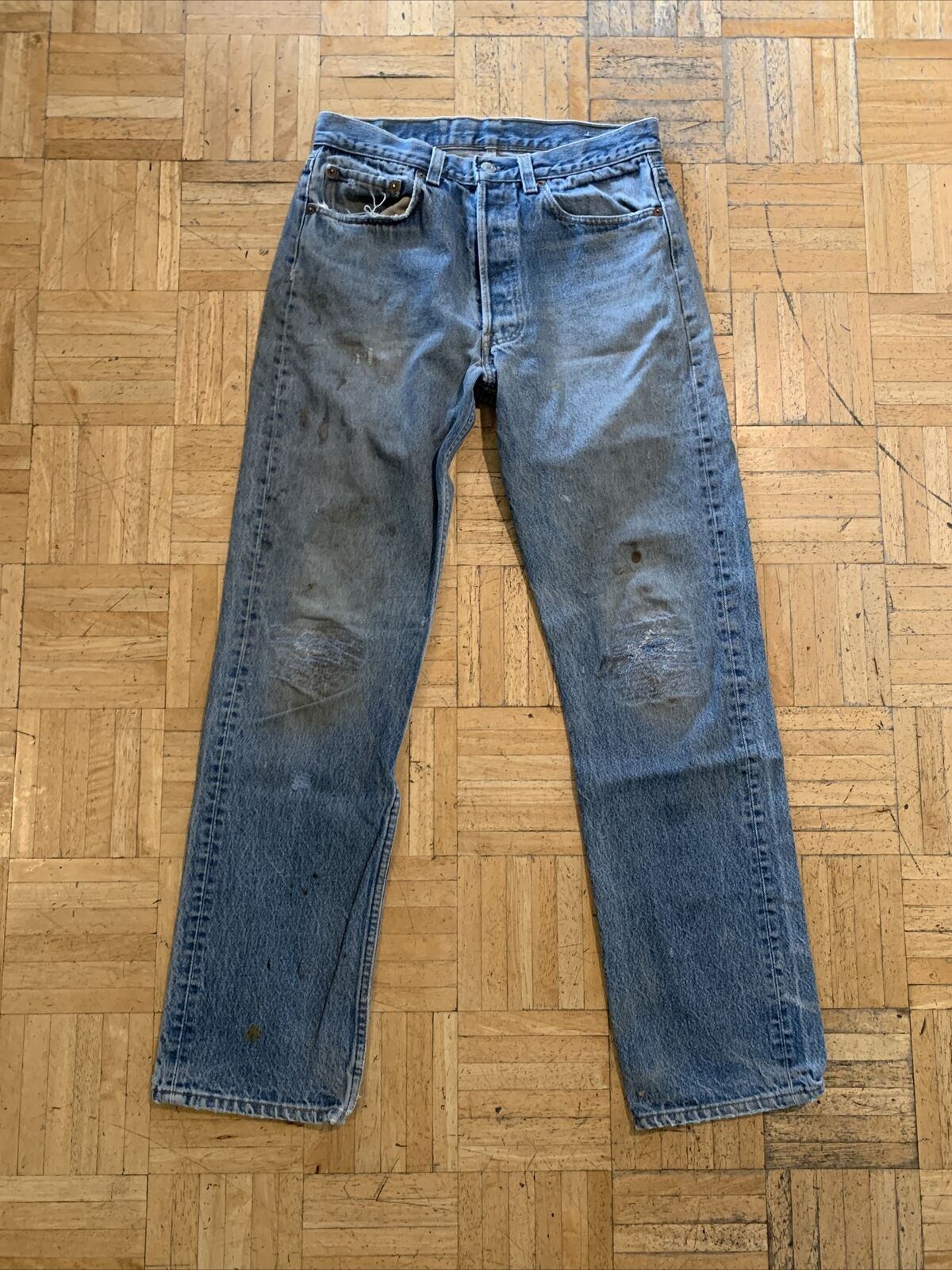 vtg levis 501 made in usa (9) - image 1