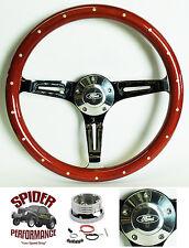 "1965-1969 Fairlane Ranchero Galaxie 500 Galaxie steering wheel FORD WOOD 15"""