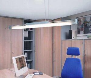 Suspension-Luminaire-suspendu-eclairage-BALLAST-BUREAUX-Gewerbe-Halle-bureau