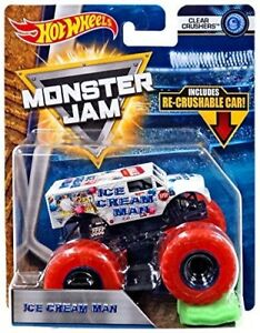 Hot Wheels Monster Jam Rare Ice Cream Man Monster Truck 1 64 Nib Rare Ebay