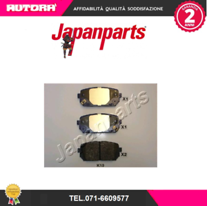 PPK10AF-G-Kit-pastiglie-freno-a-disco-post-Kia-Carens-III-JAPANPARTS