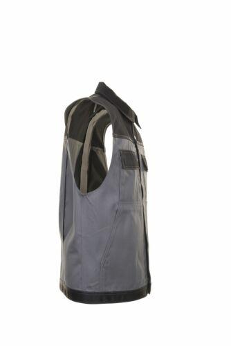 Planam tristep señores chaleco gris negro modelo 1254