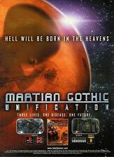 Martian Gothic Unification 2000 Magazine Advert #5437
