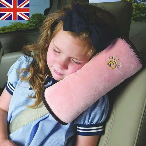 Child Kid Cars Safety Seat Belt Pillow Shoulder Strap Pad Cushions Head Supports