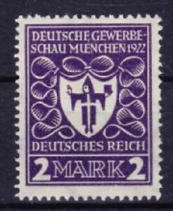 DR-Mi-Nr-200-b-geprueft-Tworek-BPP-Gewerbeschau-1922-postfrisch-MNH