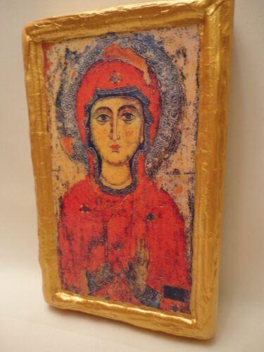 Saint Margaret Marina of Antioch Rare Eastern Orthodox Icon on Aged Wood