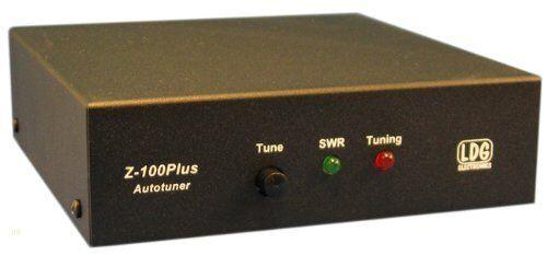2 Year Warranty Authorized Dealer LDG Z-100 Plus Auto Tuner 1.8-54 MHz