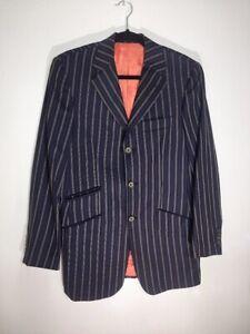 133b84f52 Ted Baker No Ordinary Joe CT Mens Suit-Jacket Blazer 38 R Pinstriped ...